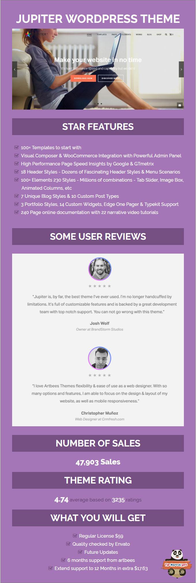 jupiter-best-one-page-wordpress-themes-the-maverick-spirit