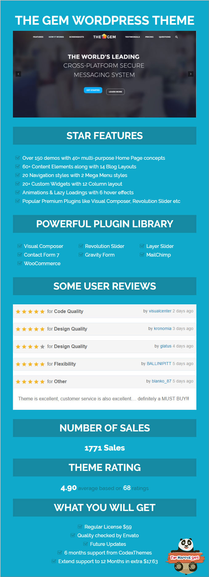 14 best premium parallax responsive one page wordpress themes