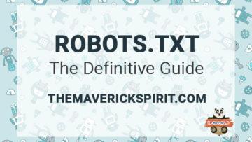Robots txt file to improve SEO