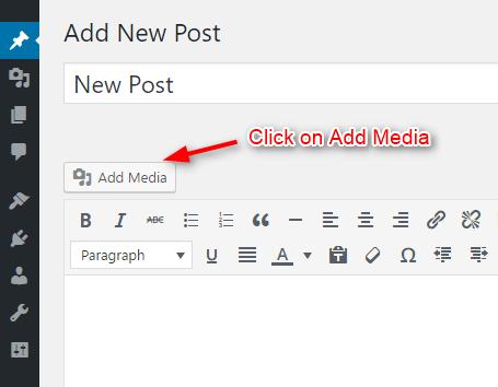 add-media-in-wordpress-post