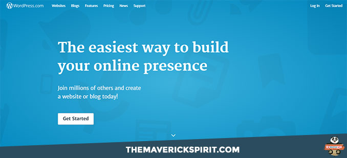 wordpress-dot-com-the-maverick-spirit