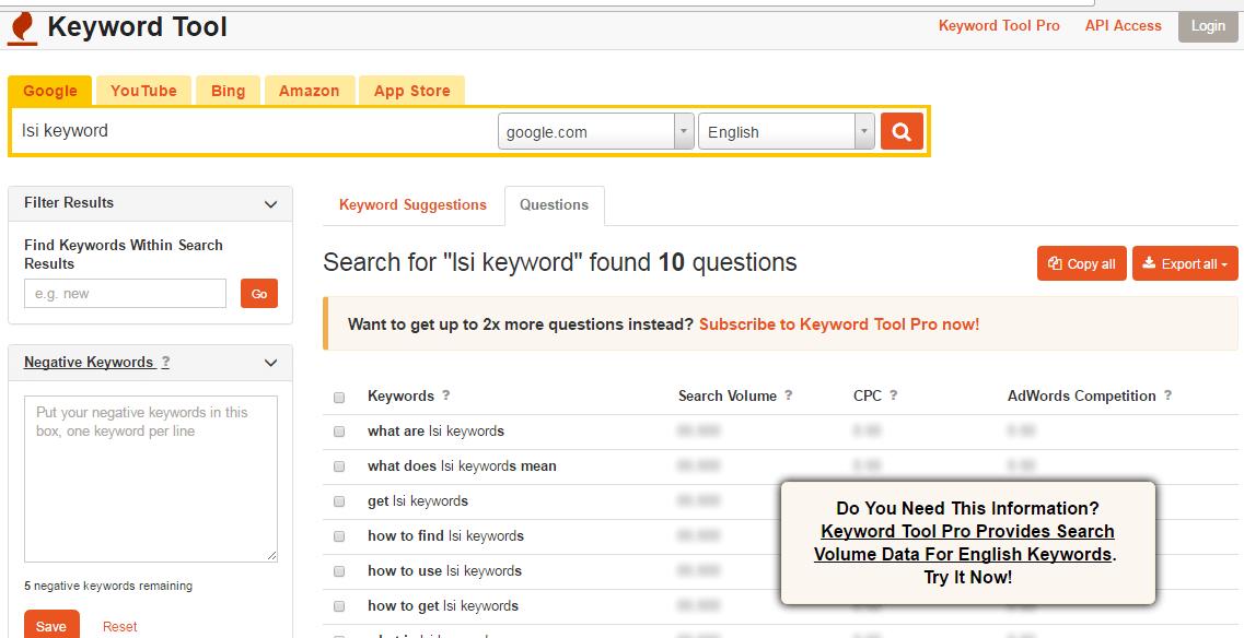 Keyword io
