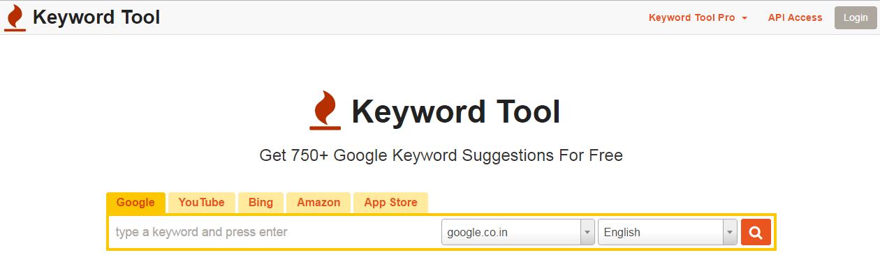 KeywordTool.io Google Planner Alternative
