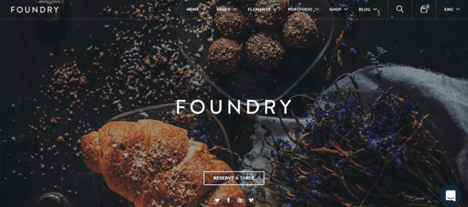 Foundry-Sleek & Performance Focused Website Template