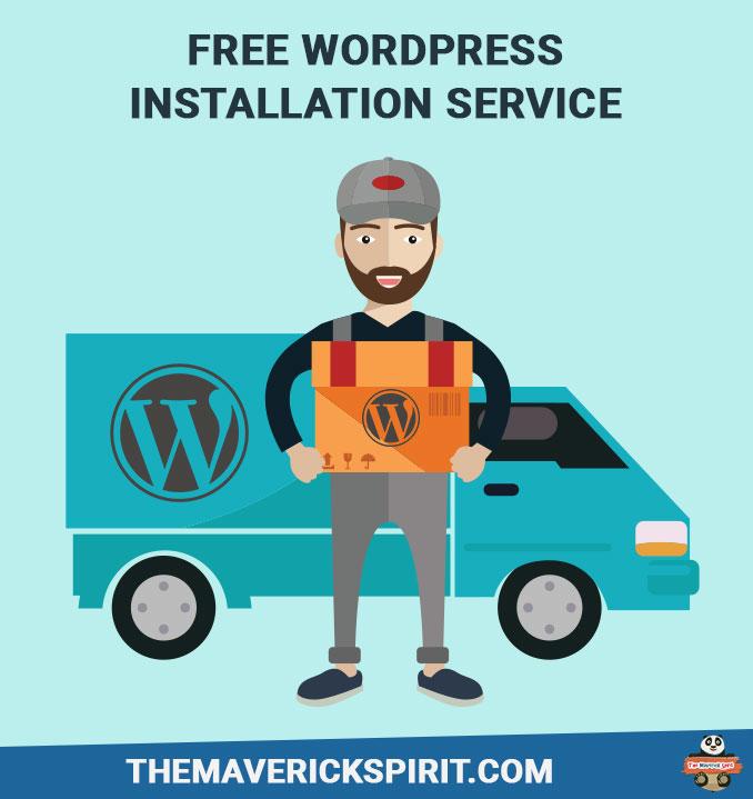 Free-wordpress-installation-services