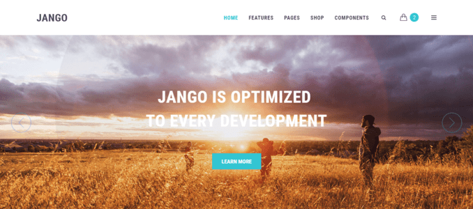 Jango-Clean & Easy Framework Multipurpose Website Template