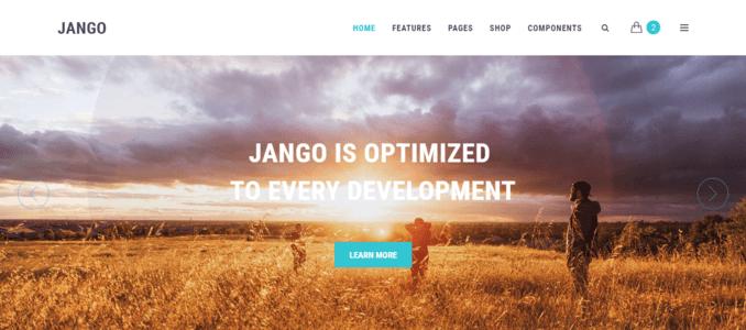 Jango-Clean & Easy Framework Multipurpose Website Template