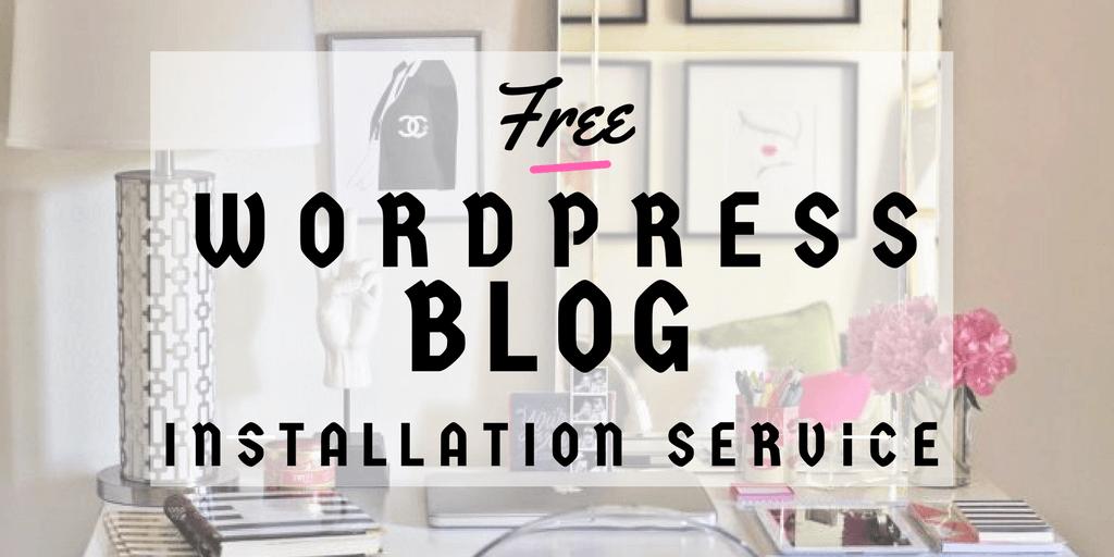 free wordpress setup service the maverick spirit