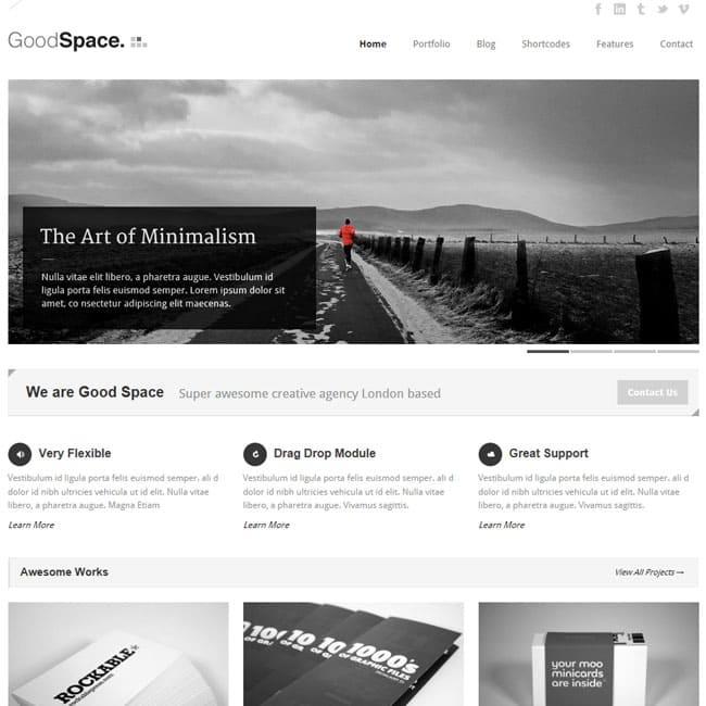 good-space-responsive-minimal-wp-theme