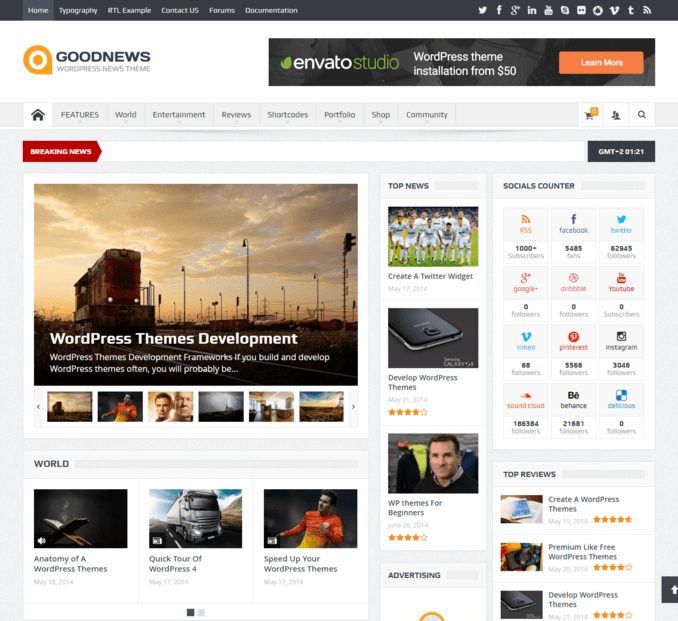 goodnews-best-selling-WordPress News-magazine-theme