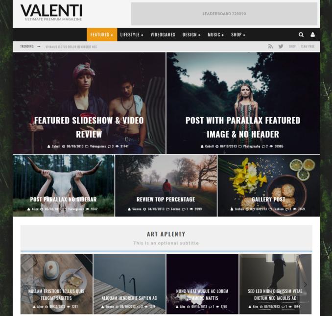 valenti-premium-personal-blog-wordpress-theme
