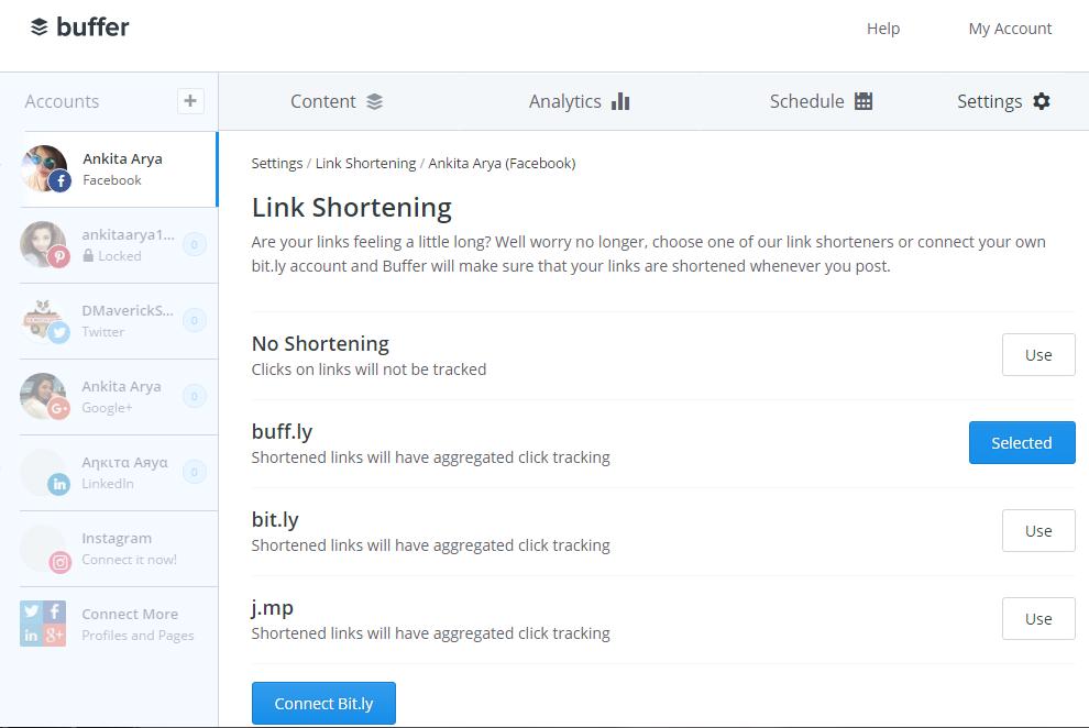 Buffer-URL-link-Shortening-Service-Provider