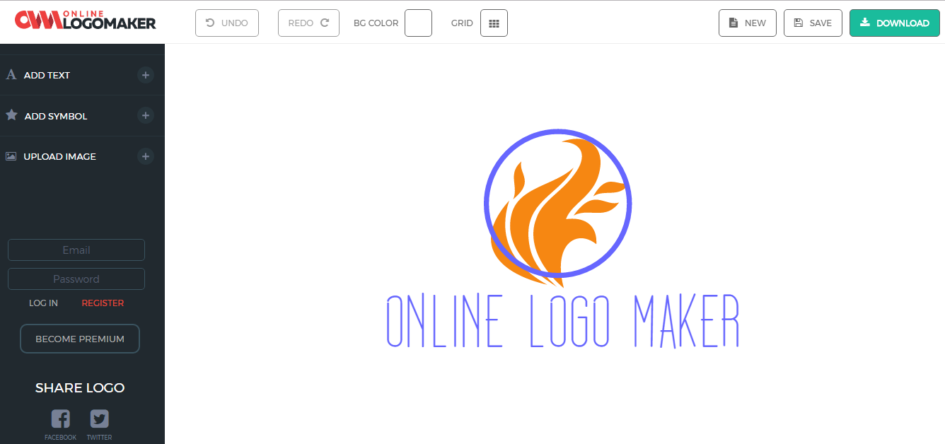 10 free logo makers online designing tools for your business online free logo generator tool biocorpaavc Image collections