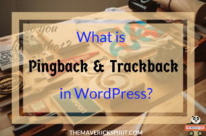 What is Pingback and Trackback in WordPress-the-maverick-spirit