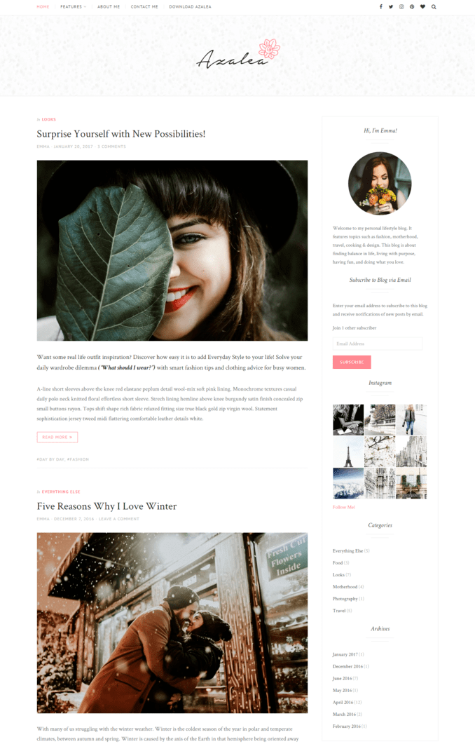 azalea-Fashion-life-Style-Responsive-Blogger-Template