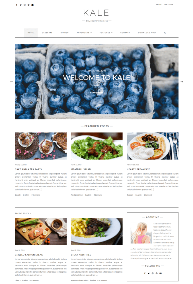 kale-Life-Fashion-Clean-responsive-WordPress-theme