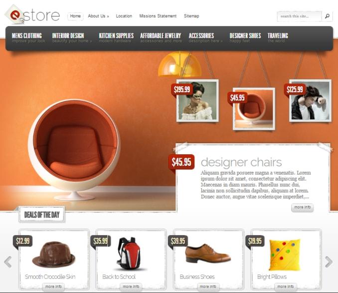Amazon-eStore-eCommerce-WordPress-Theme
