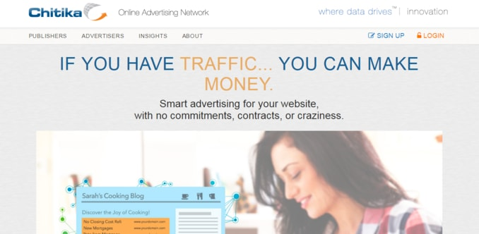 Chitika-Contextual Ad Network For Bloggers