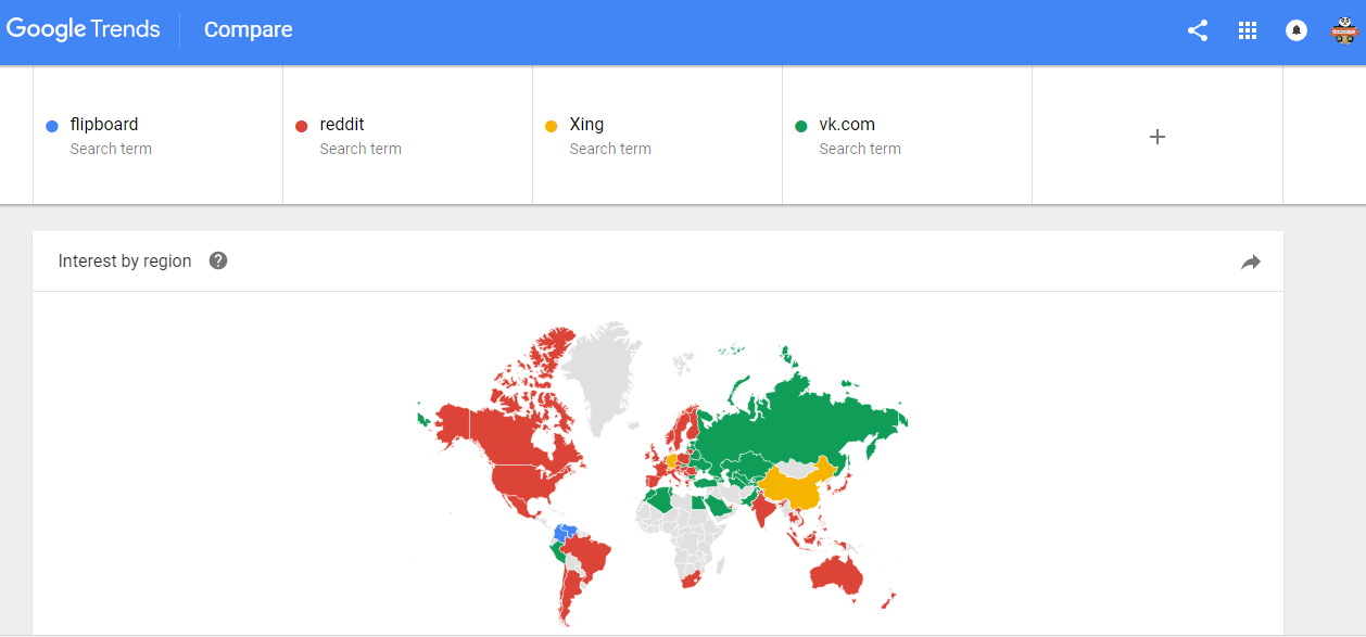 Google-trends-social-media-networks-popular-in-different-countries-the-maverick-spirit