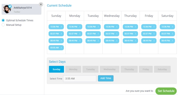 How to schedule your posts using socialpilot