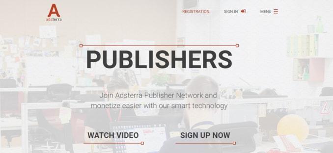 adsterra-Premium International Advertising Network