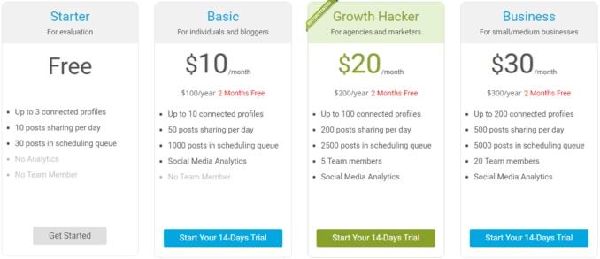 socialpilot-pricing-plans