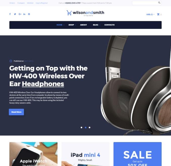 wilson-smith-tech-gadget-electronics-store-woocommerce-theme