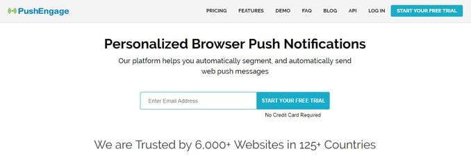 PushEngage-web-browser-push-notification-service-review
