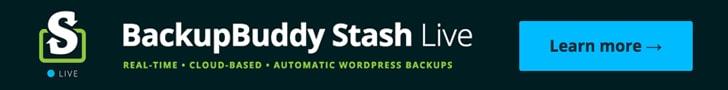 Stash Live BackupBuddy WordPress Backup Plugin