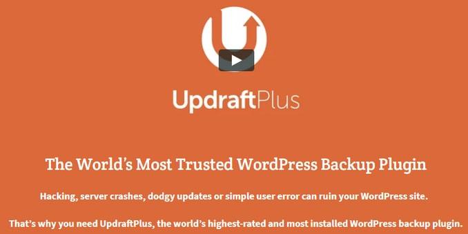 UpdraftPlus best WordPress Backup Service