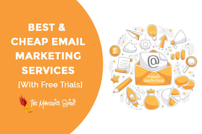 10 Cheapest Email Marketing Services 2019 [Free Trials]