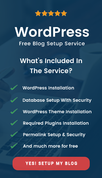 free-wordpress-blog-setup-service-themaverickspirit