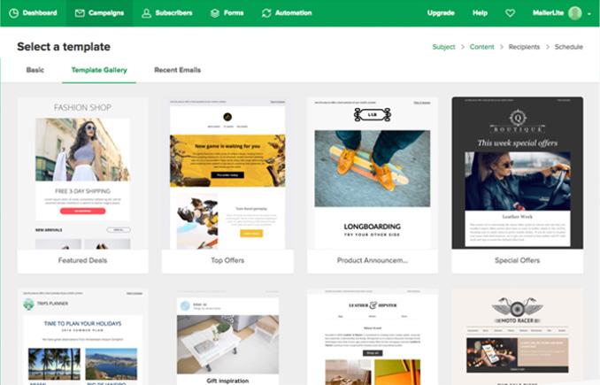 mailerlite-template-gallery-welcome-emails-landing-pages