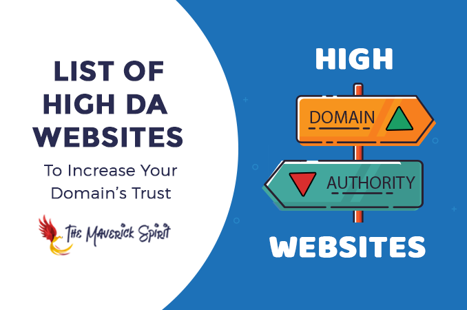 186+ List of High Domain Authority Sites To Get DoFollow