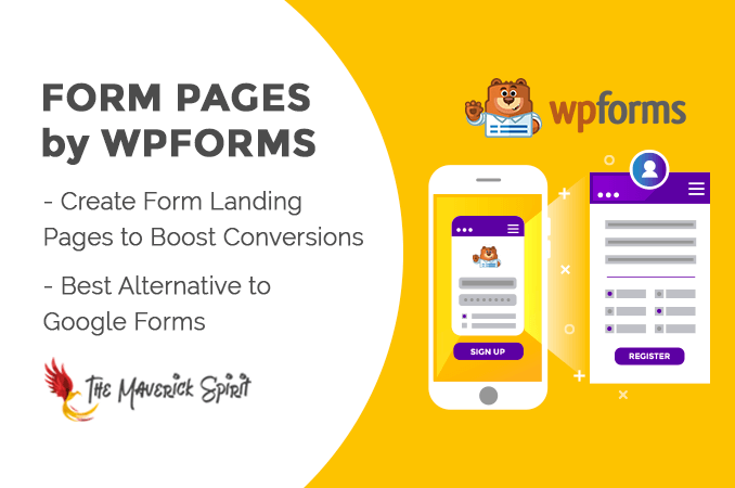Form Pages by WPForms - Best Google Forms Alternative for WordPress