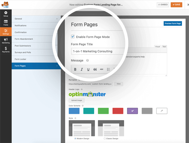 how-to-enable-form-pages-mode-wpforms