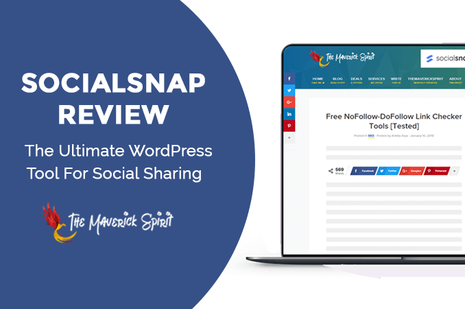 Social Snap Review - Best Social Sharing WordPress Plugin