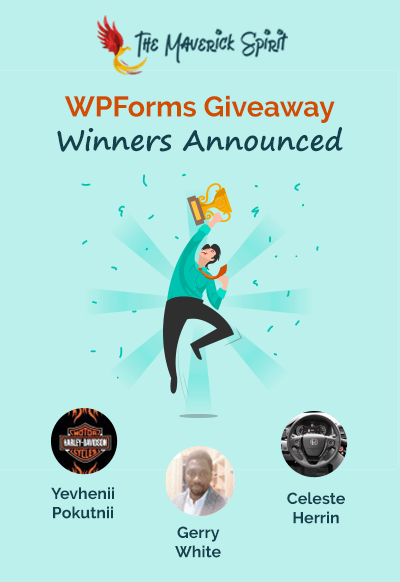 WPForms Giveaway - Win Pro License of WPForms! [ENDED