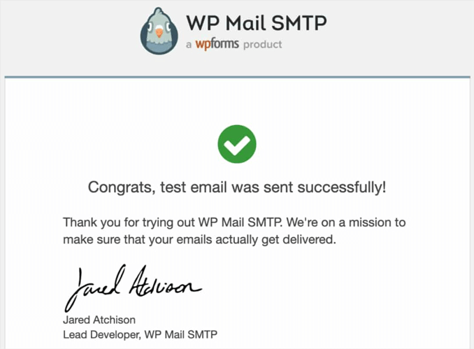 test-email-success-wp-mail-smtp
