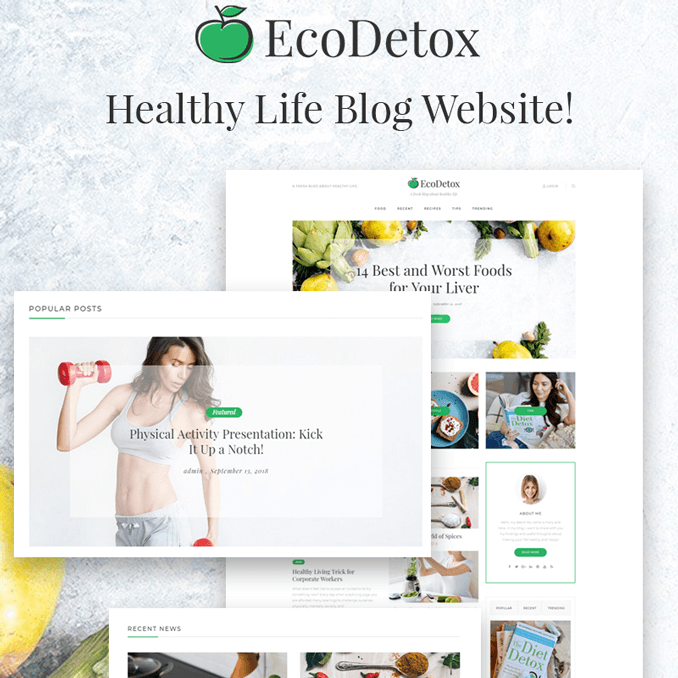 ecodetox-fresh-food-blog-website-template