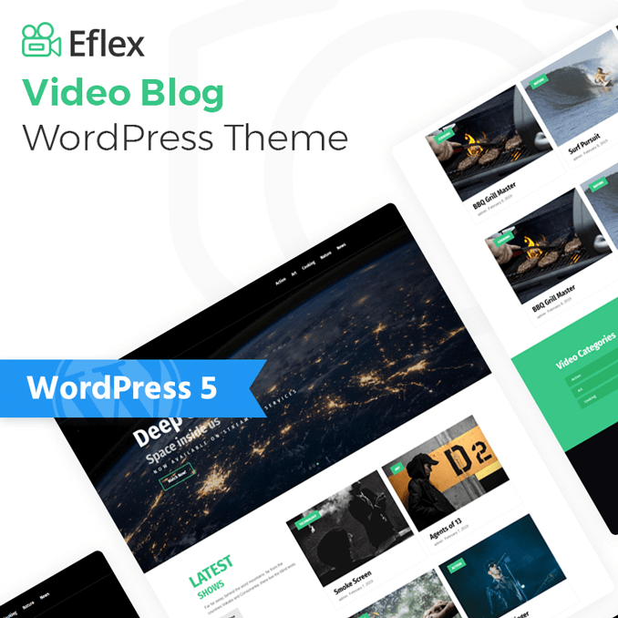eflex-video-blog-multipurpose-classic-elementor-wordpress-theme