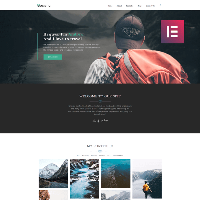 societic-lifestyle-elementor-wordpress-blog-theme