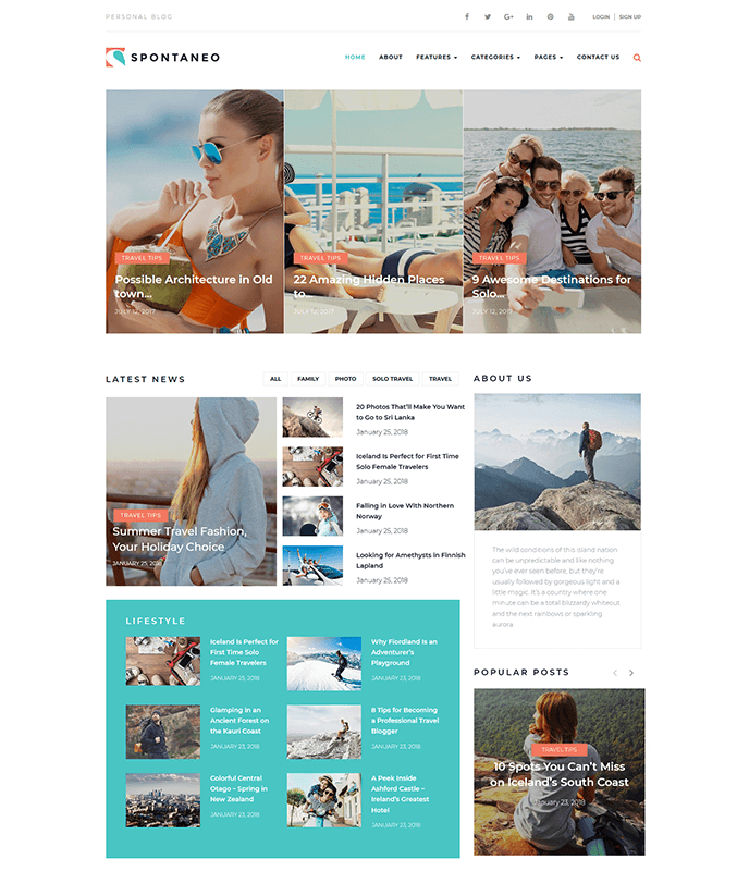 spontaneo-personal-travel-blog-wordpress-theme