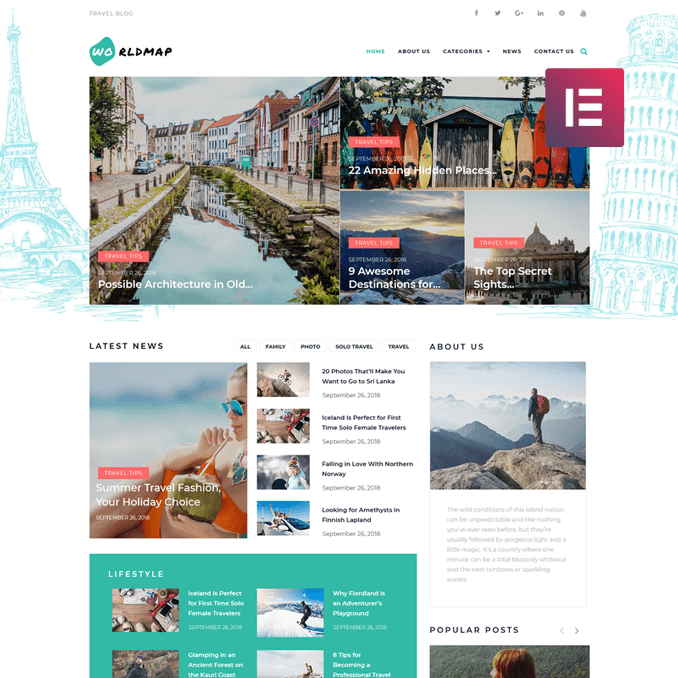 worldma-travel-photo-blog-wordpress-template