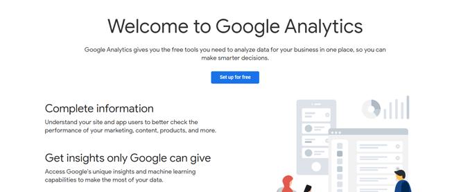 google-analytics-welcome-screen-post-login