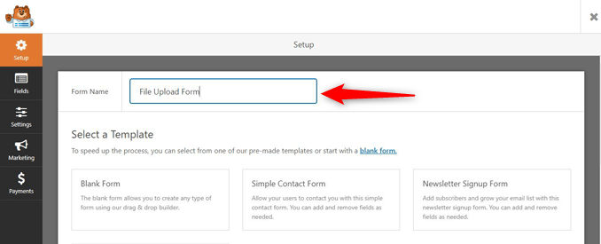 add-new-form-wpforms