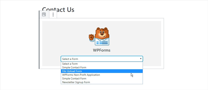 add-your-file-upload-form-to-wordpress-site-usign-wpforms-widget-block