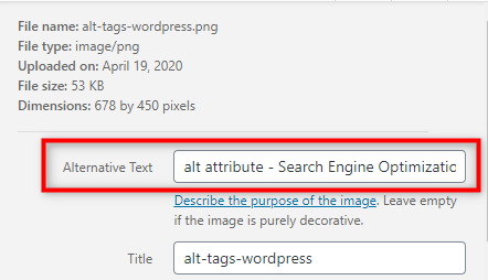 How to Add ALT Tags & Title to Images in WordPress?