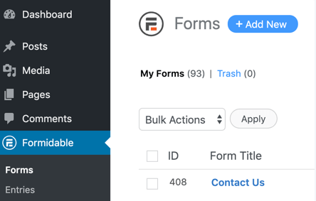 create-form-add-new-button-formidable-forms