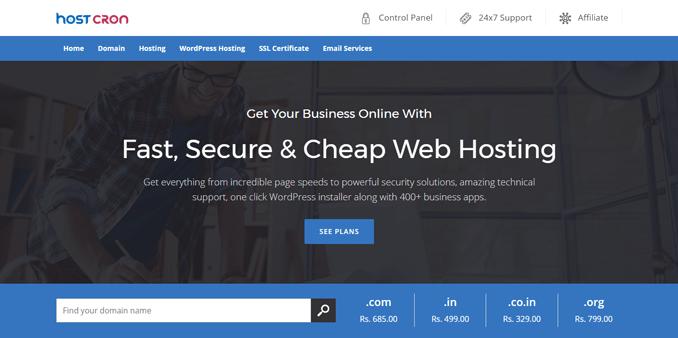 hostcron-best-fast-secure-website-hosting-service